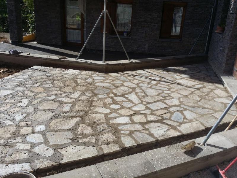 Reforma de terraza en Villanúa para Arquiem